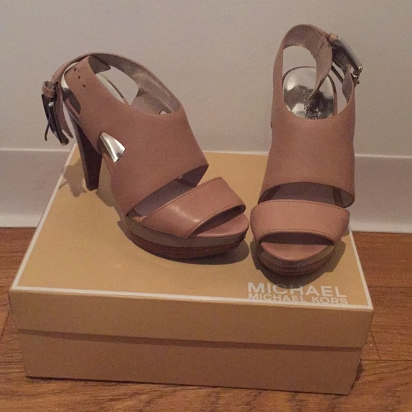 Michael Kors Shoes - Michael Kors platform heeled sandals